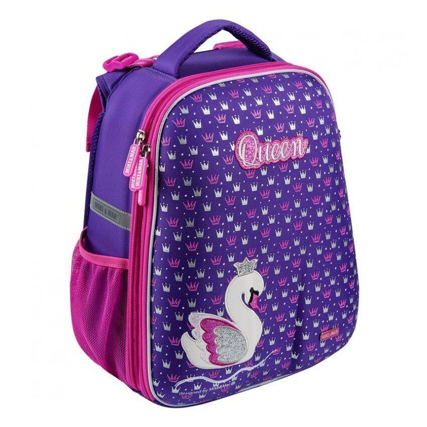 a7a3ebe6f2f6 Школьный рюкзак Mike-Mar 1008-170 Лебедь фиолетовый