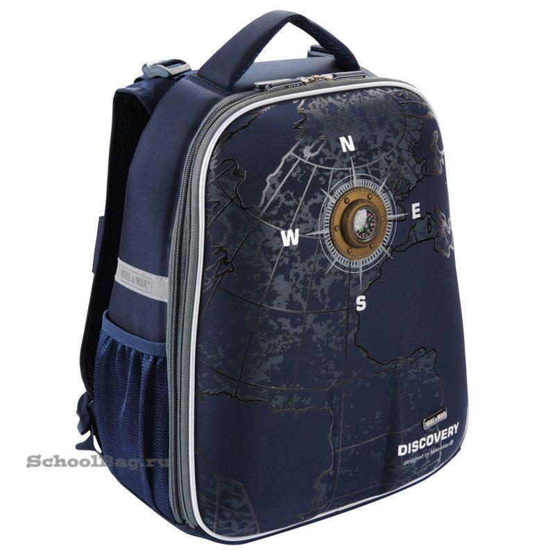 652896efb851 Школьный рюкзак Mike Mar 1008-34 Навигация Темно-синий