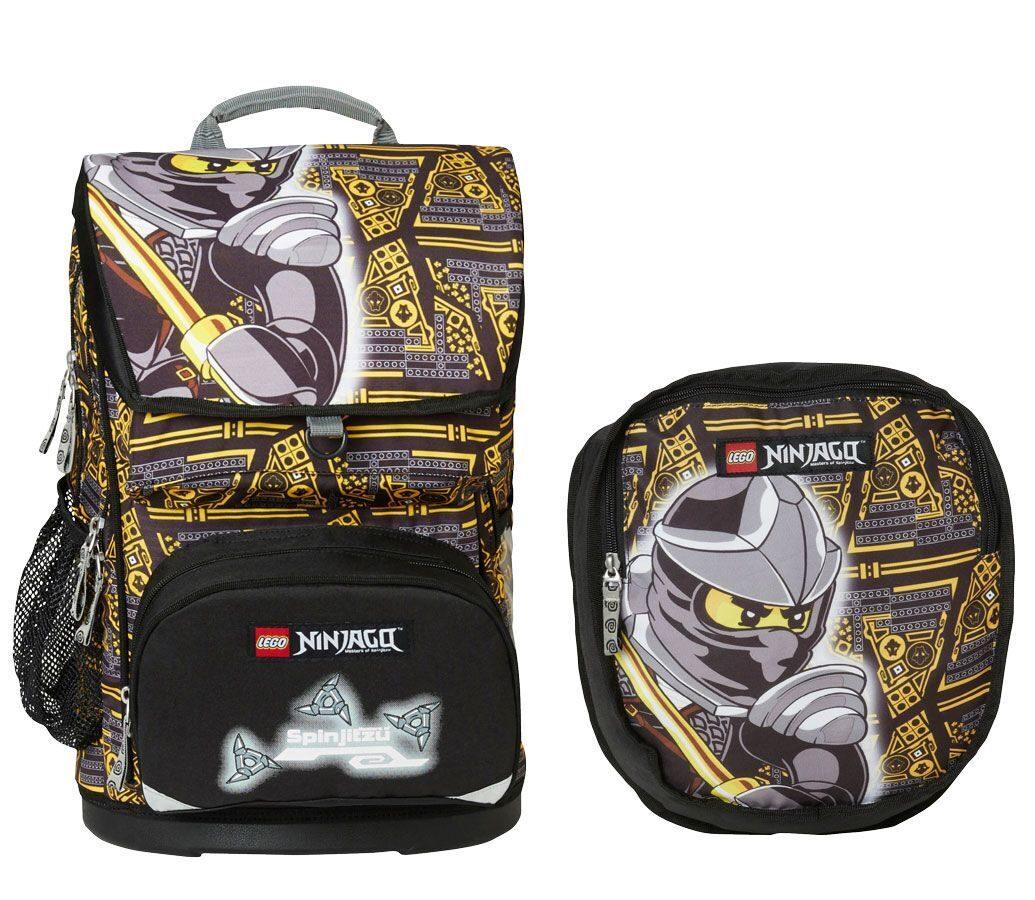 421671b73537 Школьный рюкзак Lego Maxi Ninjago Cole - набор 4 предмета