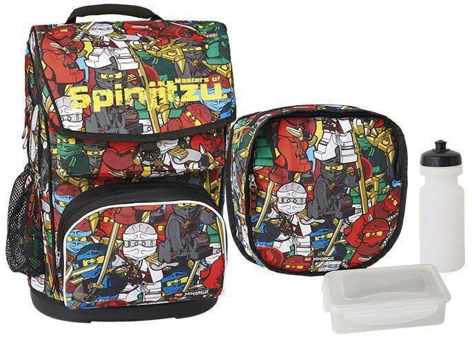 6a86896644a4 Ранец школьный Lego модель Maxi Ninjago Comic (набор 4в1)