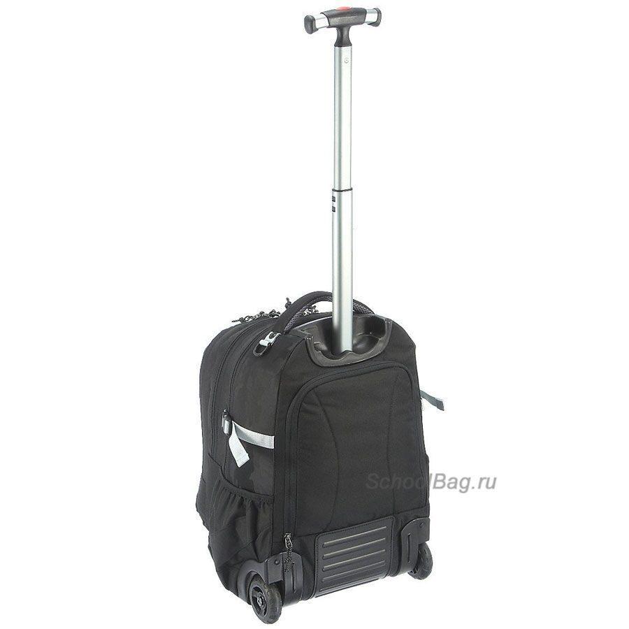 Рюкзак-портфель на колесах take it easy рюкзак для ноутбука 17.3 hp business nylon backpack black bp849aa
