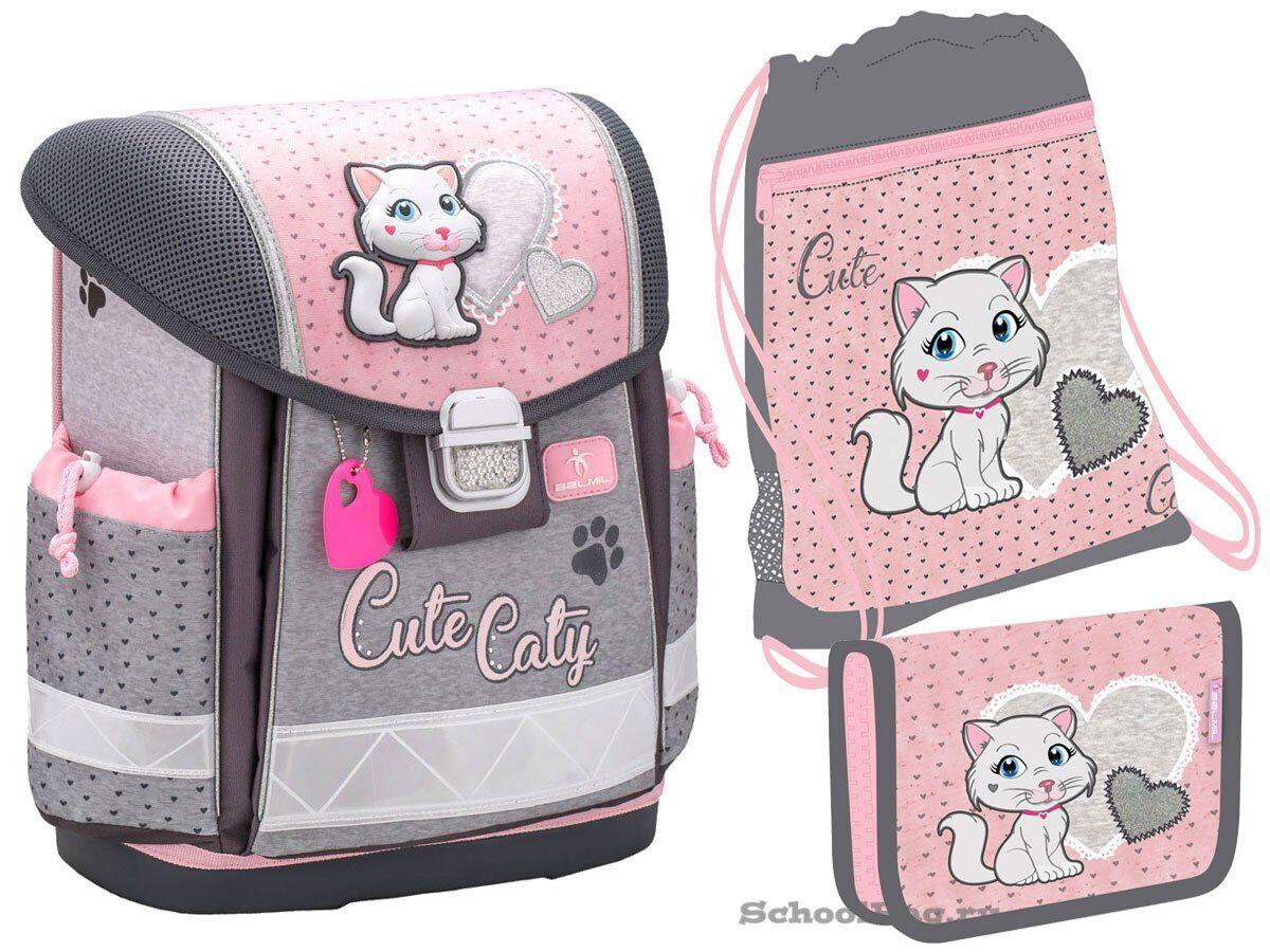 8515ec754203 Ранец Belmil Classy Cute Caty 403-13/719-Set с наполнением купить в ...