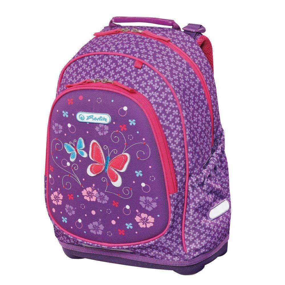 a24754cf79fd Школьный рюкзак Herlitz Bliss Purple Butterfly 50013982