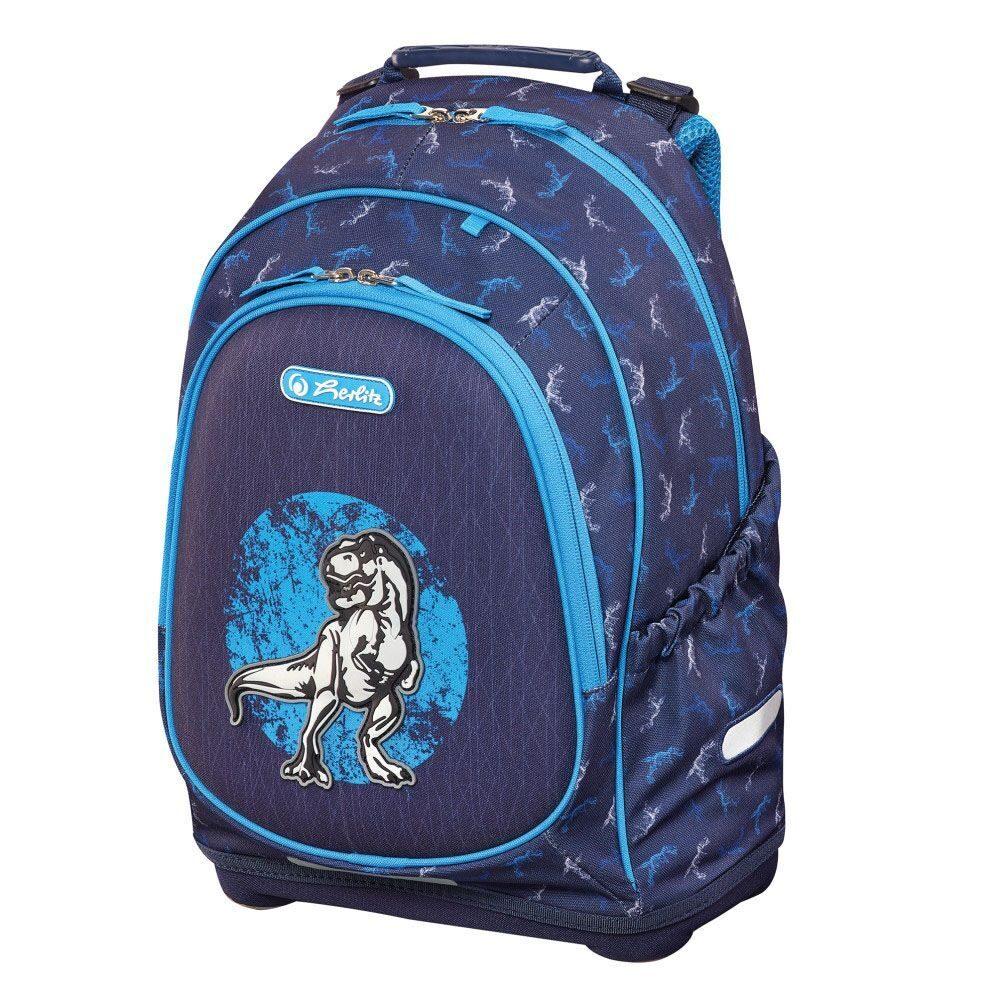 9d960b310ee3 Школьный рюкзак Herlitz Bliss Blue Dino 50014019