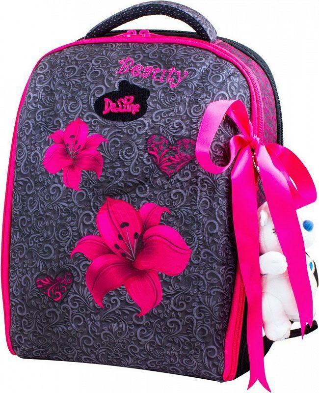 9daaf088707e Ранец школьный De Lune 7-140 + мешок для сменки + брелок мишка