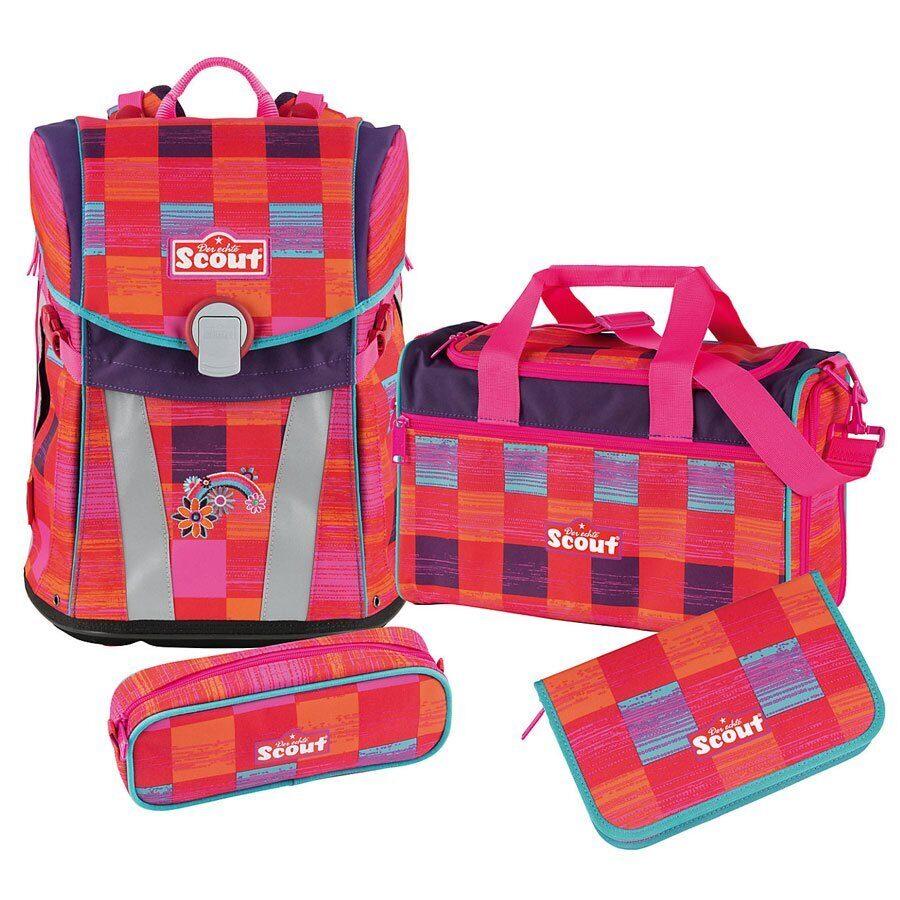 4209d1d10702 Школьный ранец Scout Sunny Set Цвет Радуги 73410642100 (4 предмета)