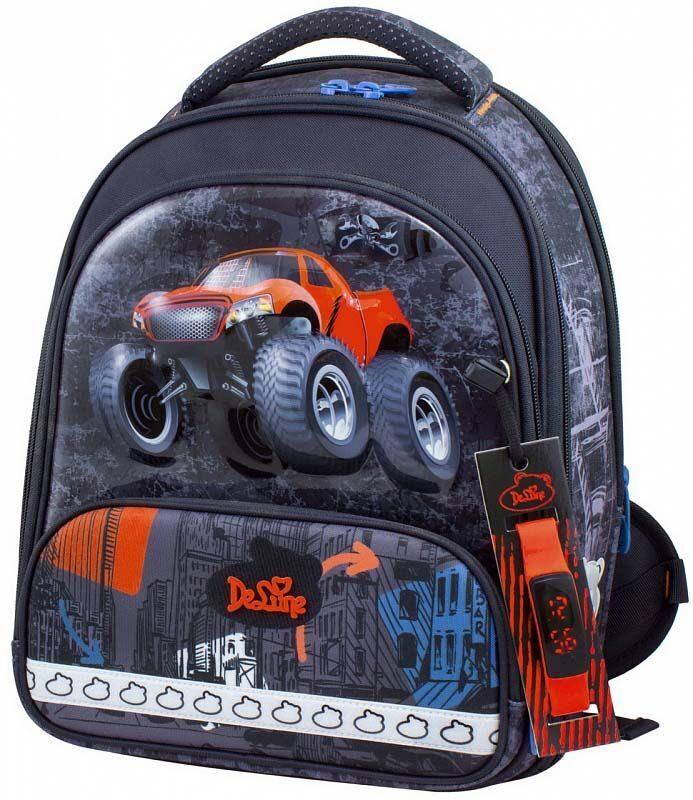 84381a3990b4 Ранец школьный Delune 9-120 + мешок для обуви + пенал + часы