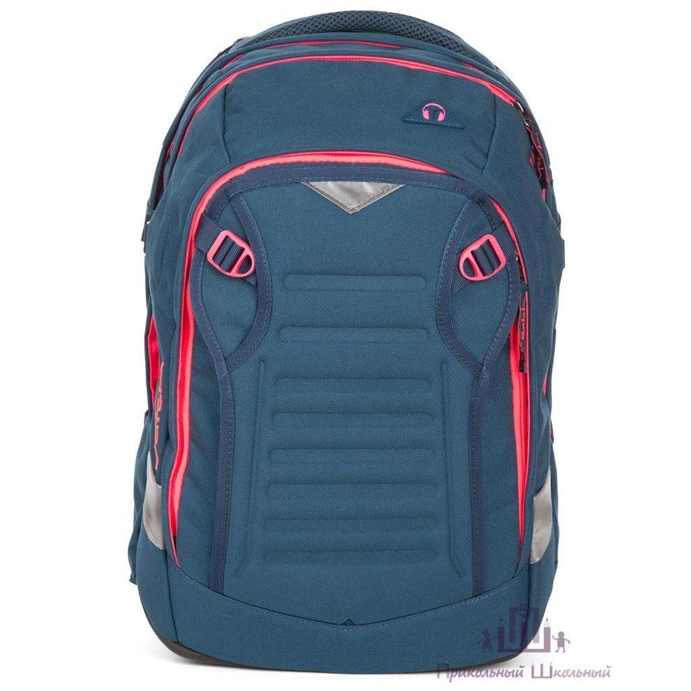 a0b42413d76d Школьный рюкзак Ergobag Satch Match Pink Phantom SAT-MAT-001-350
