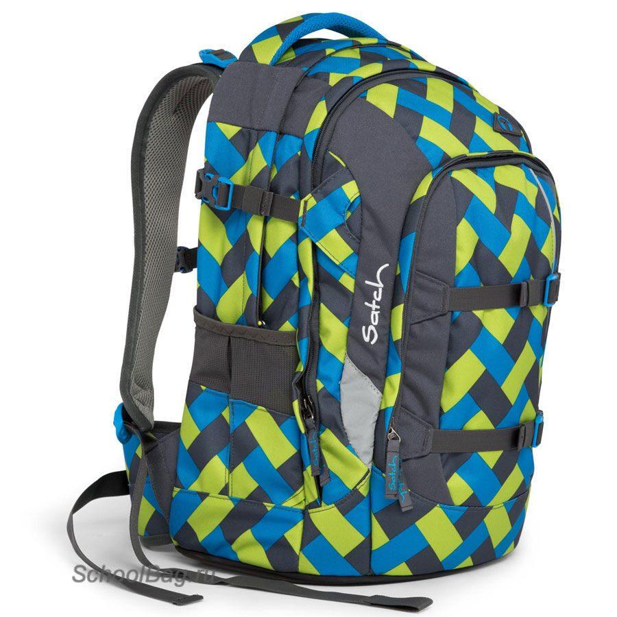 51b03777f0127 Школьный рюкзак Ergobag Satch Pack Chaka Curbs SAT-SIN-001-9D4