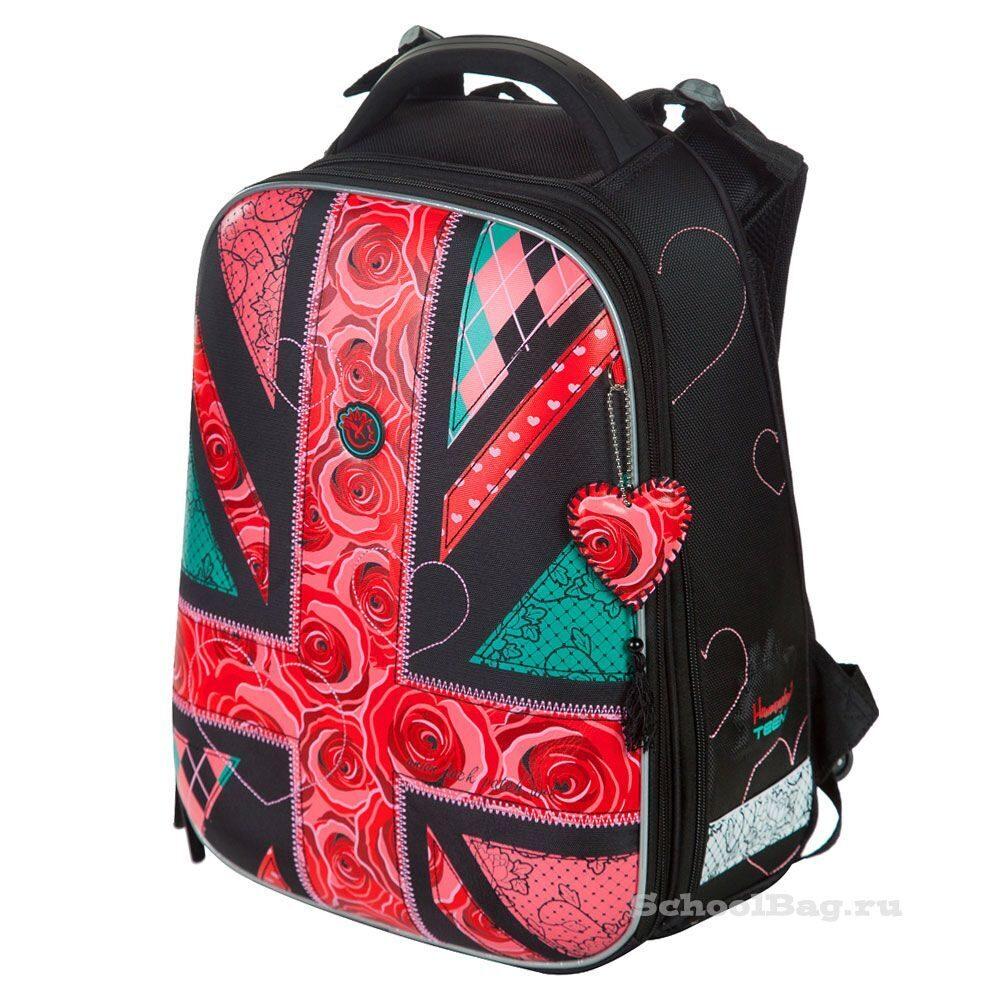 20ceb3cbed09 Школьный рюкзак Hummingbird Teens T94 Флаг Розы
