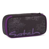 Пенал Satch Pencil Box Purple Hibiscus (без наполнения)