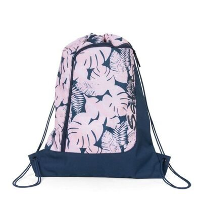 Мешок-рюкзак Satch by Ergobag Gym Bag Botanic Blush