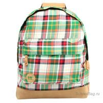 Рюкзак Mi-Pac Premium - Plaid Tartan Green