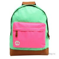 Рюкзак Mi-Pac Tonal - Two Tone Kelly Green/Hot pink