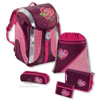 Рюкзак Hama Flexline Tweedy Hearts (5 предметов) - 103145