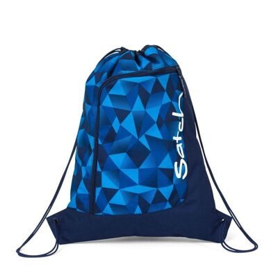 Мешок-рюкзак Satch by Ergobag Gym Bag Blue Crush