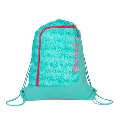 Мешок-рюкзак Satch by Ergobag Gym Bag Aloha Mint