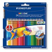 "Карандаши акварель STAEDTLER ""Noris Club 144 10"" 24 цв., + кисть"