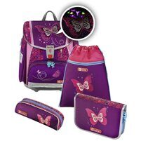 Ранец Hama Touch 2 Flash Shiny Butterfly (4 предмета)