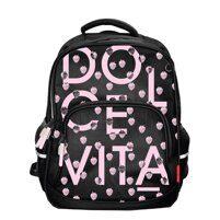 8fe049a436f3 Школьный рюкзак Bruno Visconti Dolce Vita черный, с комфортной спинкой