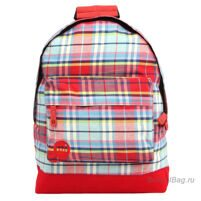 Рюкзак Mi-Pac Premium - Plaid Tartan Red