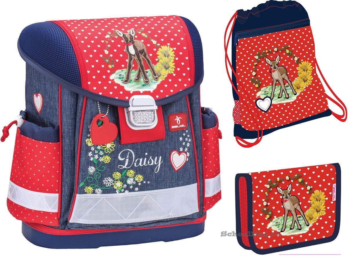 Ранец Belmil Classy 403-13/624-Set Daisy in the Forest (набор 3 пр.)