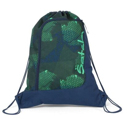 Мешок-рюкзак Satch by Ergobag Gym Bag Infra Green