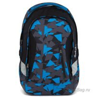Рюкзак школьный Ergobag Satch Sleek Blue Triangle
