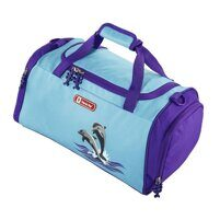 979c204105a9 Спортивная сумка Hama Step By Step Happy Dolphins голубой/фиолетовый