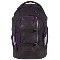 Рюкзак школьный Ergobag Satch Pack Purple Hibiscus