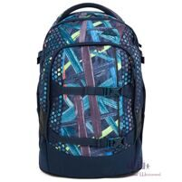 Рюкзак школьный Ergobag Satch Pack Splashy Lazer