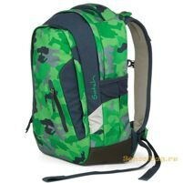 Рюкзак школьный Ergobag Satch Sleek Green Camou