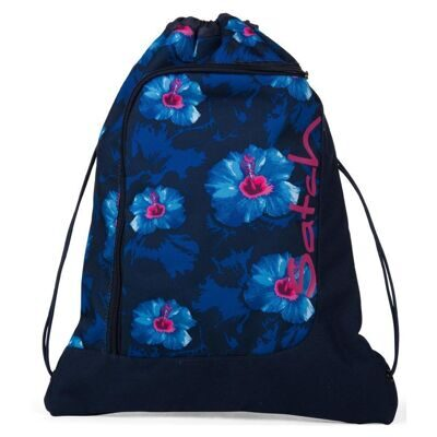 Мешок-рюкзак Satch by Ergobag Gym Bag Waikiki Blue