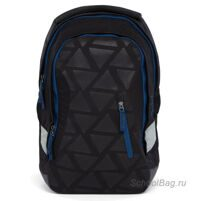 Рюкзак школьный Ergobag Satch Sleek Black Triad