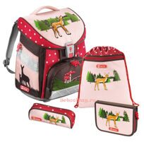 Ранец Hama Comfort Lovely Deer (4 предмета)